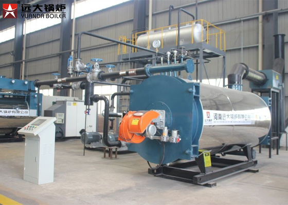 Automatic Operating Thermic Oil Heater Boiler For Bitumen Usage