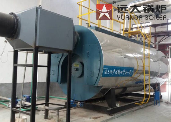 0.35MW - 14MW Oil Hot Water Boiler High Efficiency For Swimming Pool 1.25 MPa Working Pressure