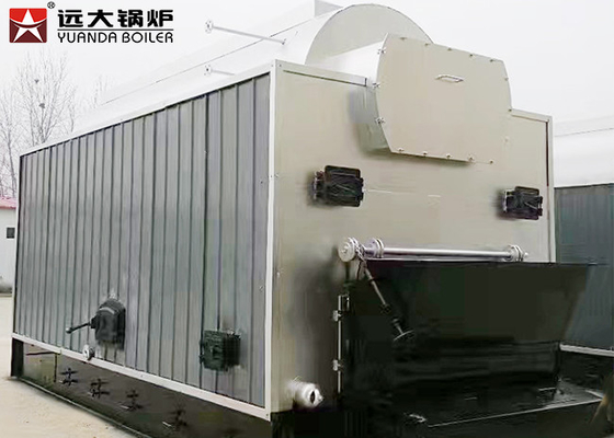 Water Fire Tube Coal Fired Steam Boiler Automatic Feeding Running For Paper Industry