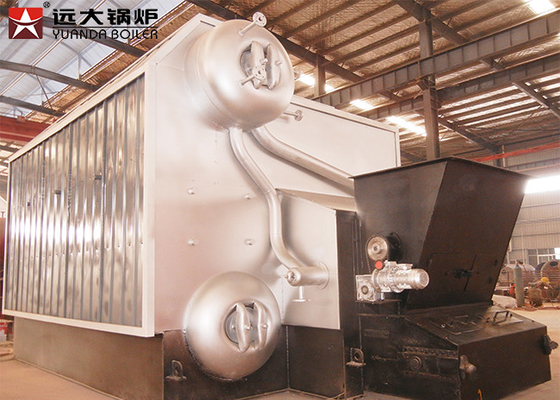 Greenhouse 2 Ton/H Biomass Fired Boiler Automatic Operation With Chain Grate