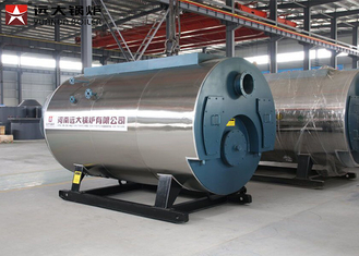 Automatic Operation Industrial Steam Boiler Low Pressure For Soy Sauce Processing