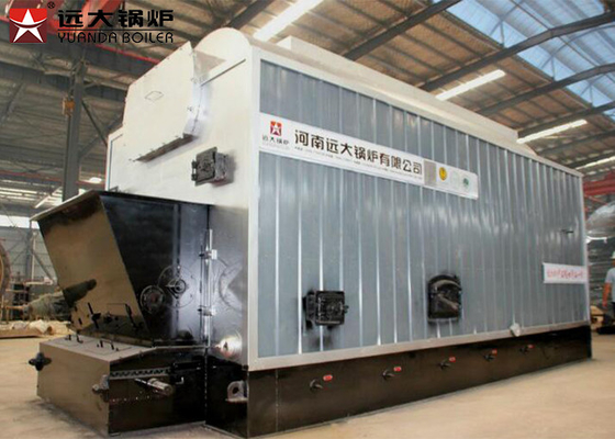 Solid Fuel 10 Bar Industrial Coal Fired Steam Boiler For Steam Distillation
