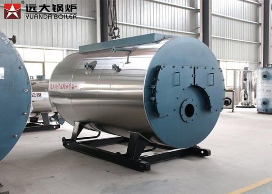Reliable Heavy Oil Gas Steam Boiler 1.0 MPa Working Pressure Energy Efficient