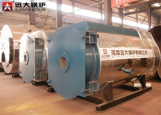 Rubber Plastic Industry Thermal Oil Heater Boiler 2.5 M Kcal 0.8 Mpa Rated Working Pressure