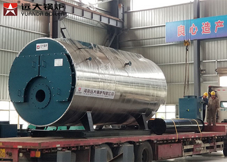 Low Pressure Oil Hot Water Boiler Horizontal Style Electrical Control CE Certification