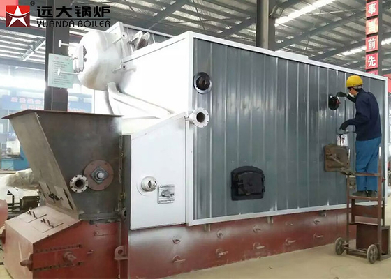 Wood Processing Mill Bagasse Fired Steam Boiler Large Furnace Burning ISO 9001