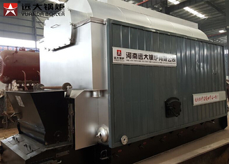 Industrial Coal Steam Boiler Chain Grate Stoker 30 Ton For Textile Mill
